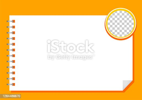 istock template paper rectangle a4 white and circle transparent for background, blank paper white for banner presentation, cover paper white a four print for clip art, empty paper a4 mock up for copy space 1264486670