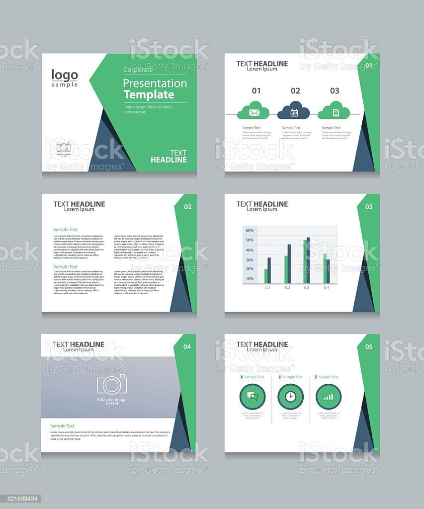 template presentation slides background designinfo graphs and charts
