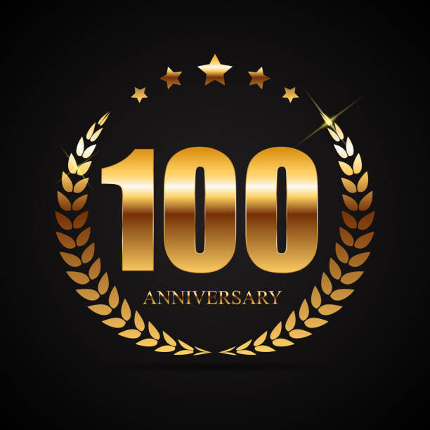 Royalty Free 100th Anniversary Clip Art, Vector Images ...