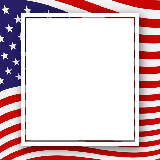 template with a pattern of stars and stripes of colors of the national flag usa patriotic background for holidays independence day presidential day labor day election patriotic american theme vector - independence day stock illustrations