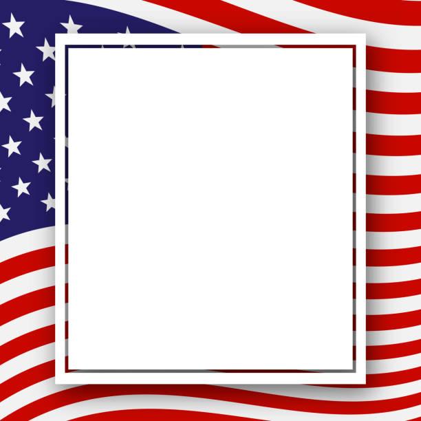 국기, 미국 애국 배경 휴일 독립 기념일 대통령 일 노동의 날 선거 애국적인 미국 테마 벡터에 대 한 색상의 줄무늬와 별 패턴 템플릿 - independence day stock illustrations