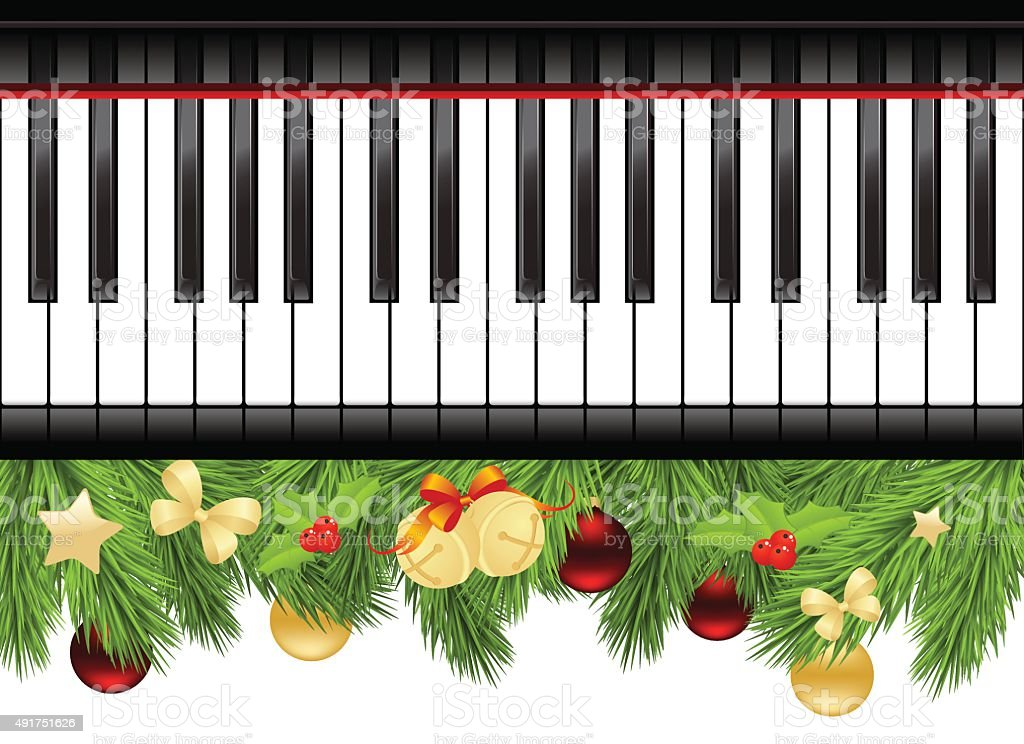 Template With Piano Keyboard Royalty Free Stock Vector Art Amp