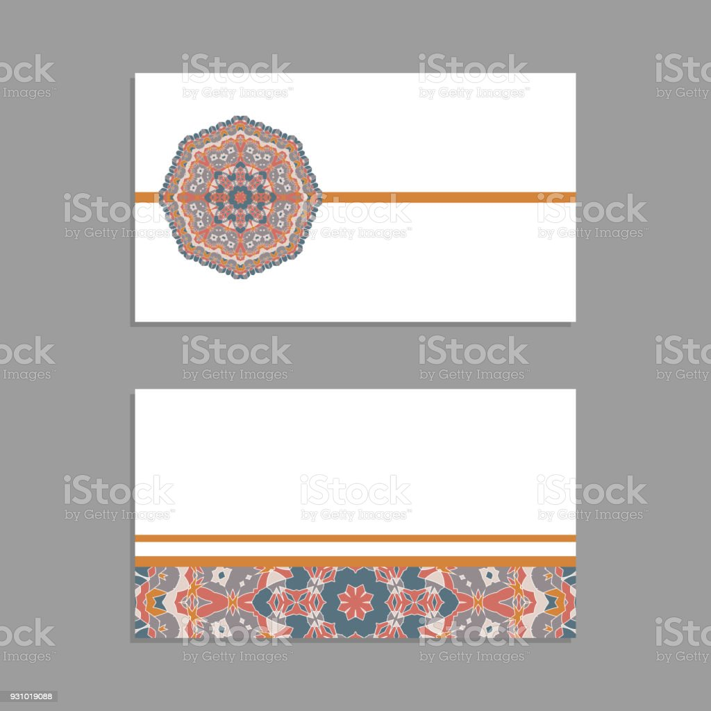 Templates For Greeting And Business Cards Brochures Covers With ...