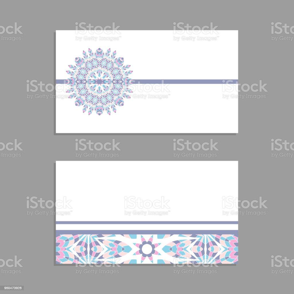 vorlagen fr gru und visitenkarten broschren cover mit floralen motiven orientalische muster - Muster Visitenkarten