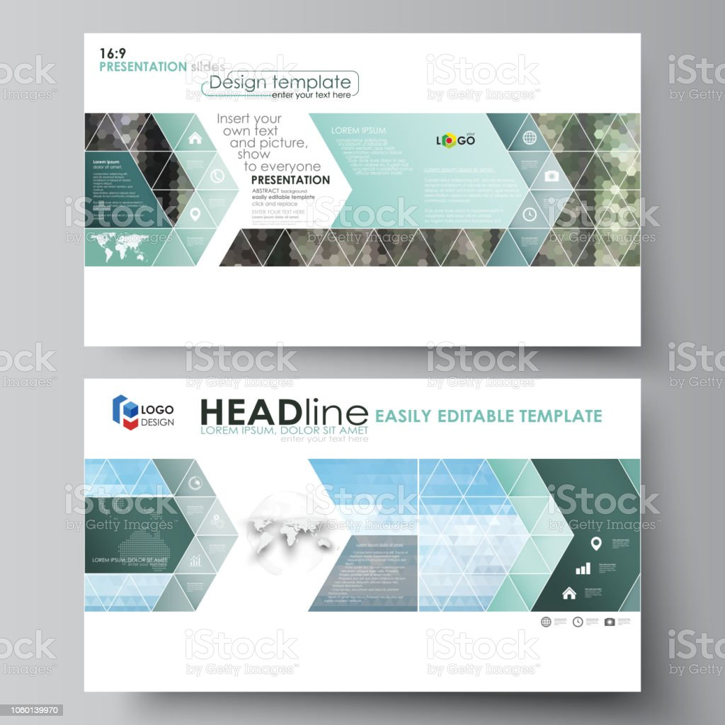 Templates In Hd Format For Presentation Slides Abstract Design