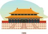 Temple-monastery complex in beijing is building of temple of heaven
