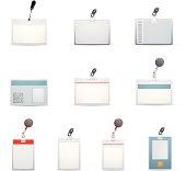 Ten ID badge templates designs