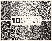 Ten Vector Seamless Organic Patterns
