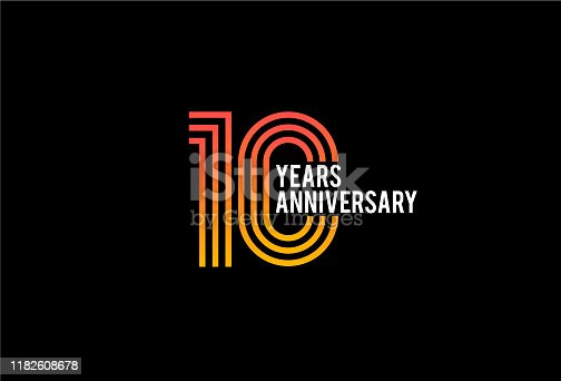 Ten Year anniversary design