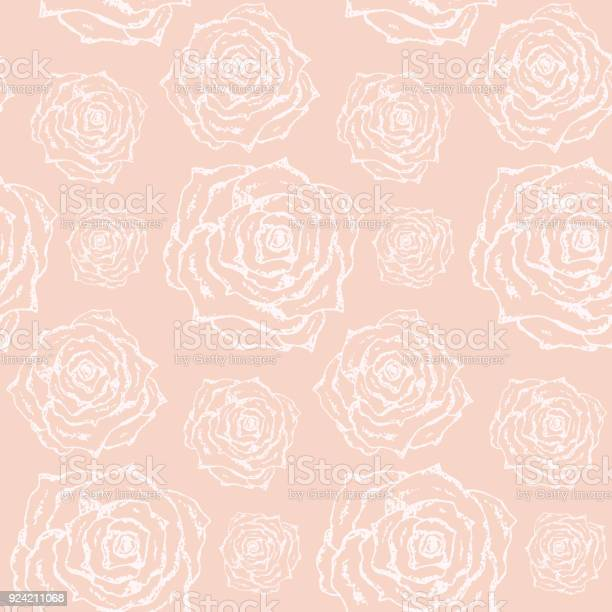 Tender lovely pattern with white outline roses vector id924211068?b=1&k=6&m=924211068&s=612x612&h=kdw4kzmlb196cspuz6x12e lvf8mfvoop09q3hp qwg=