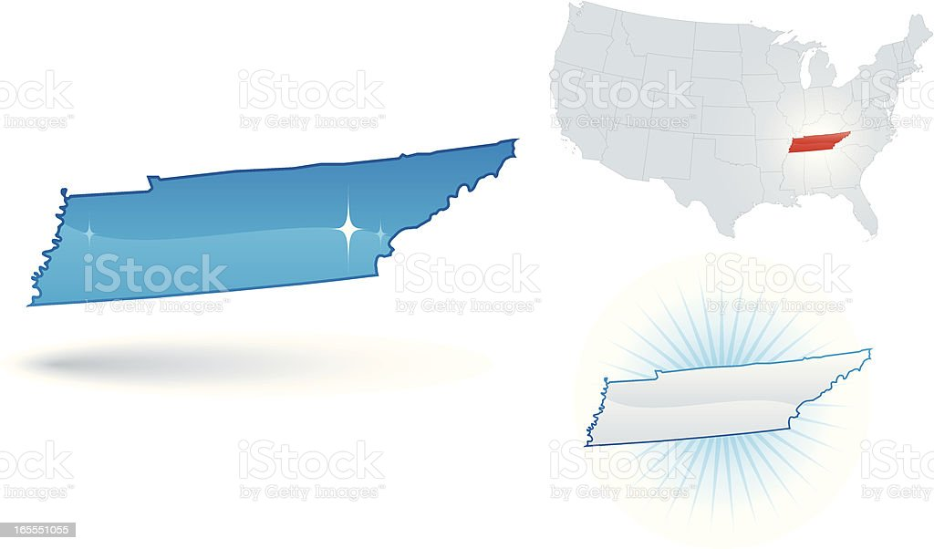 Tennessee State royalty-free stock vector art