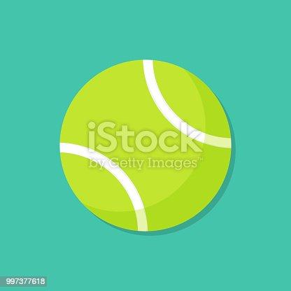 istock Tennis Ball Cartoon Illustration 997377618