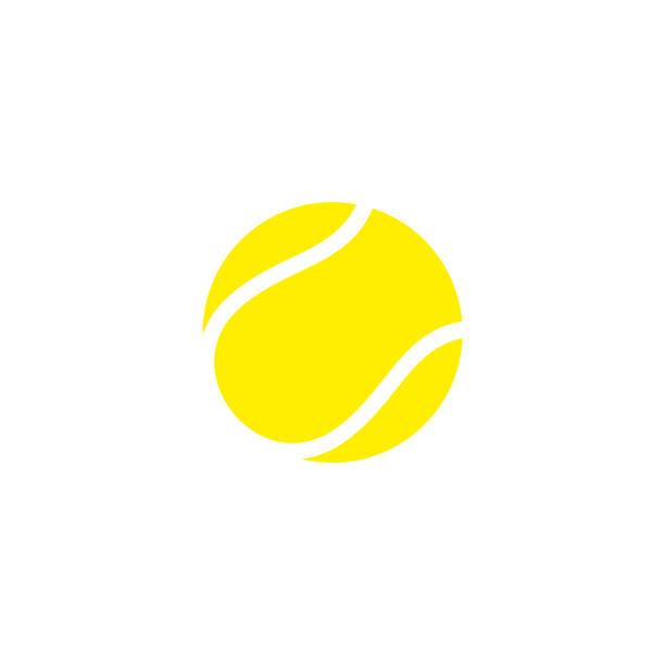 stockillustraties, clipart, cartoons en iconen met tennisbal. pictogram - tennis