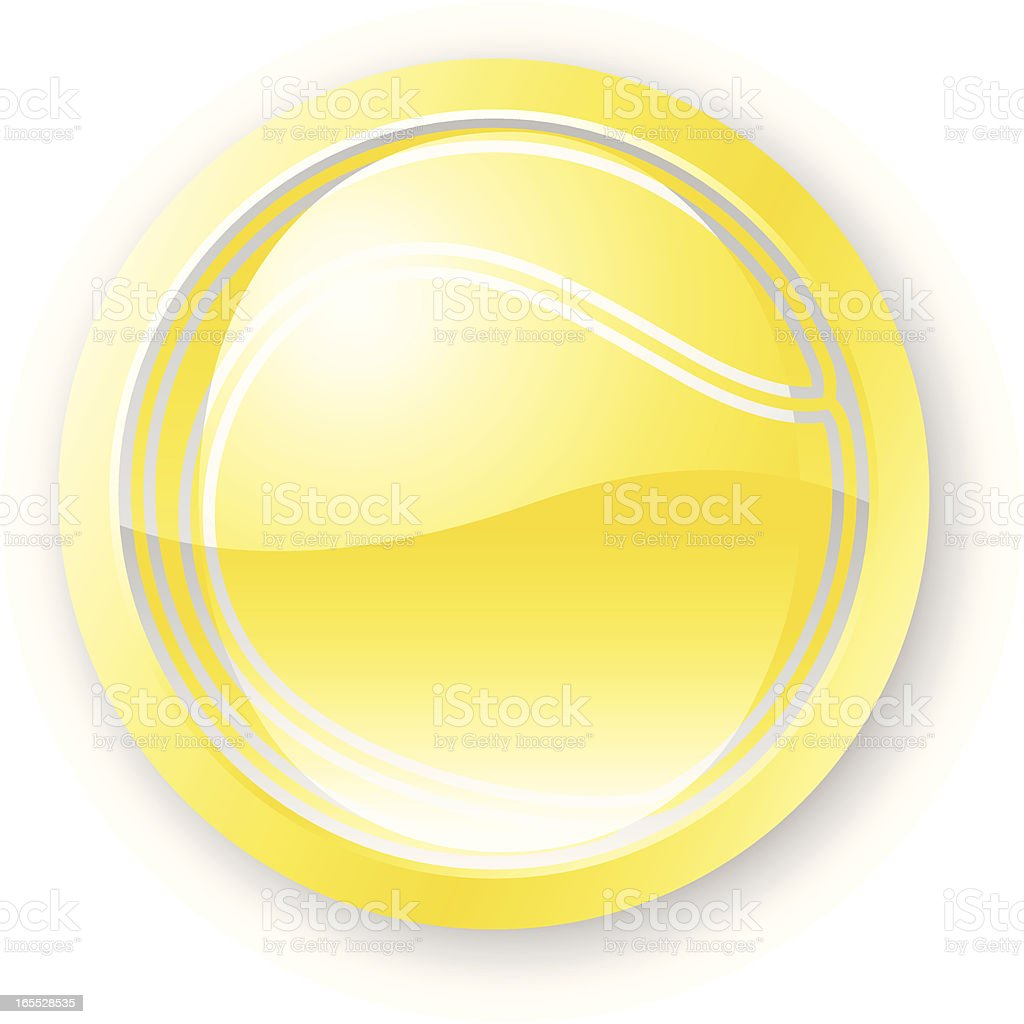 Tennis Ball Icon royalty-free tennis ball icon stock vector art & more images of backgrounds