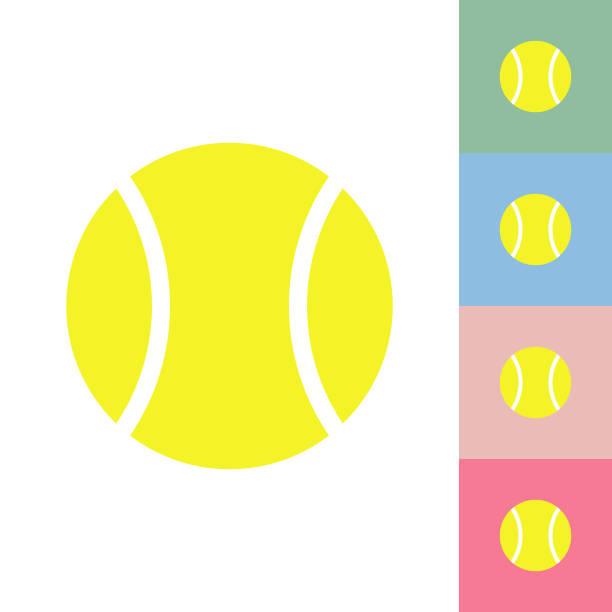 tennisball - wimbledon stock-grafiken, -clipart, -cartoons und -symbole