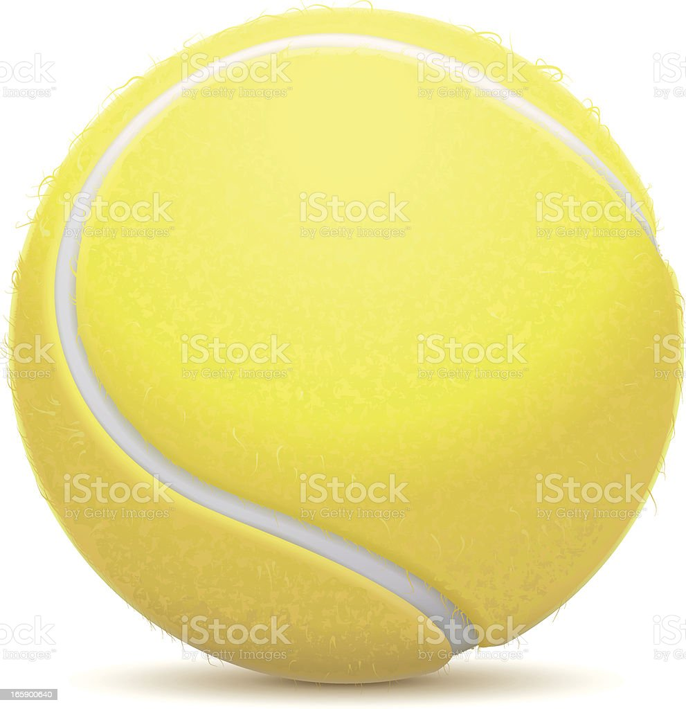 Tennis Ball royalty-free tennis ball stock vector art & more images of ball