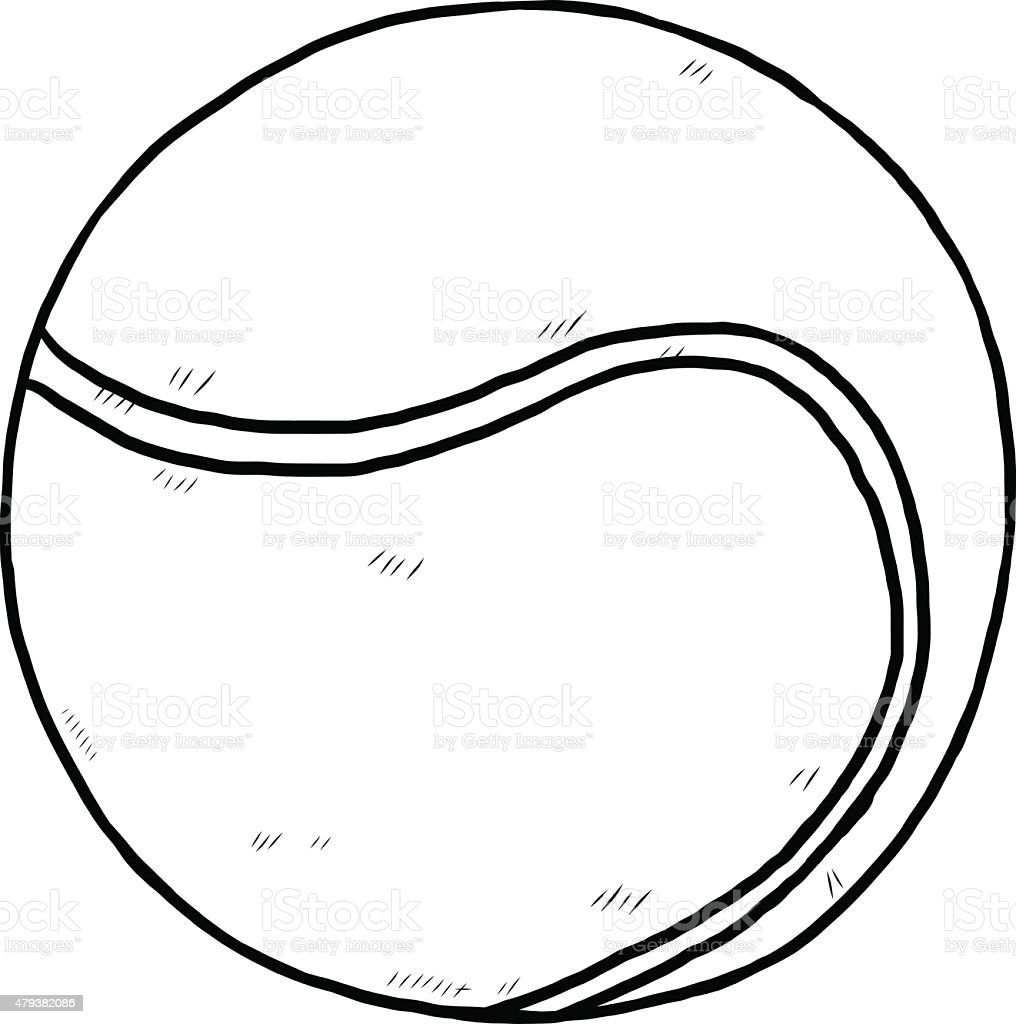 tennis ball stock vector art more images of 2015 479382086 istock rh istockphoto com
