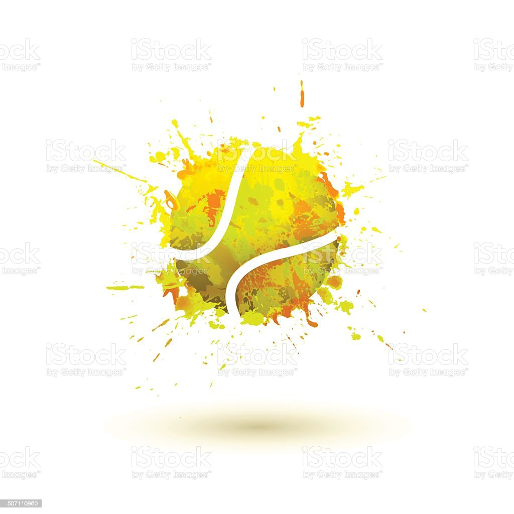 tennis ball – Vektorgrafik