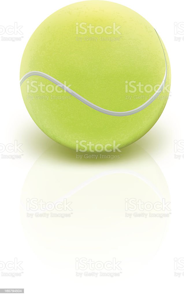Tennis Ball - Vector Illustration vector art illustration