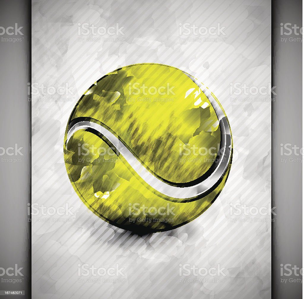 Tennis ball watercolor royalty-free tennis ball watercolor stock vector art & more images of abstract