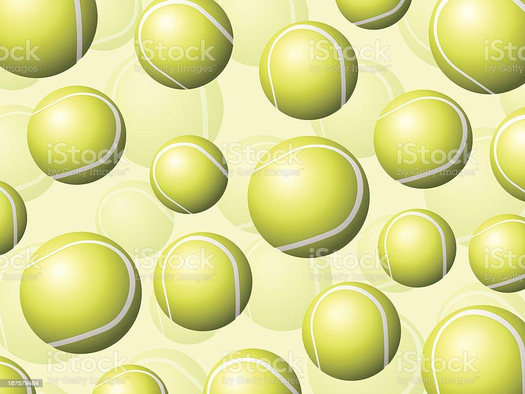 tennis balls background royalty-free stock vector art