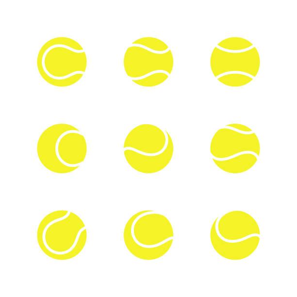tennisbälle - wimbledon stock-grafiken, -clipart, -cartoons und -symbole