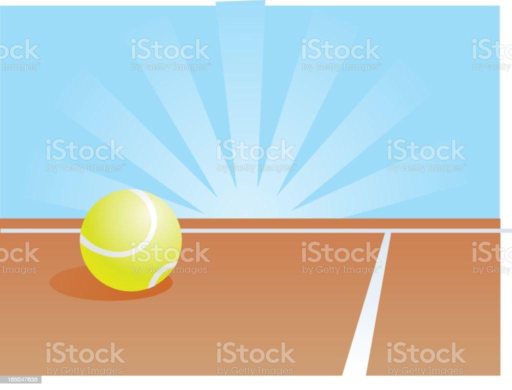 tennis court royalty-free stock vector art