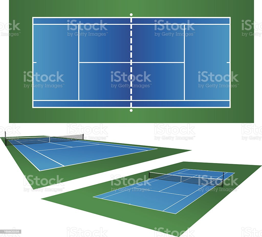 royalty free tennis court clip art vector images illustrations rh istockphoto com tennis court oath clipart