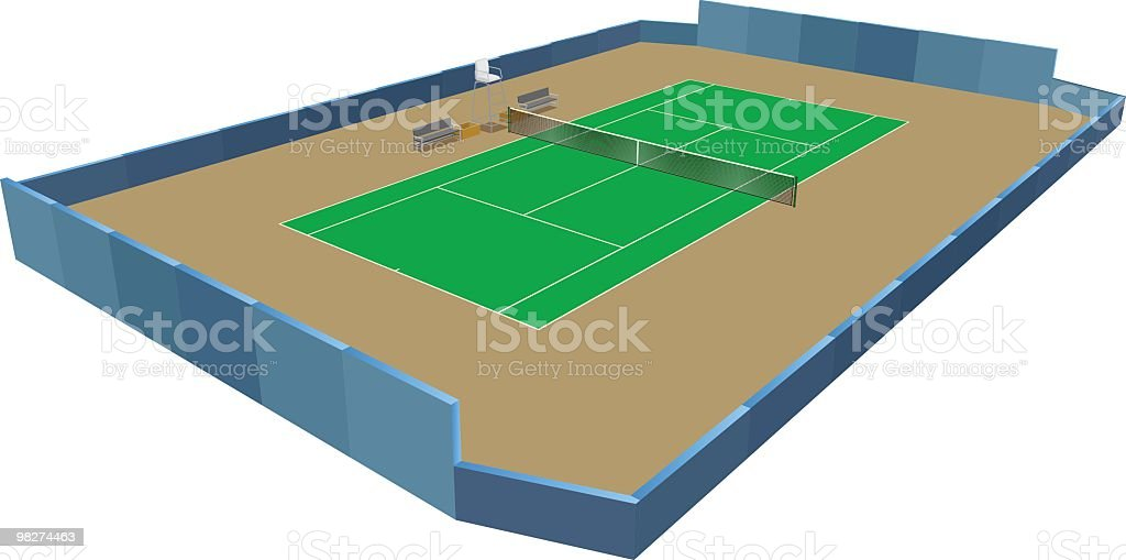 tennis court royalty-free tennis court stock vector art & more images of color image