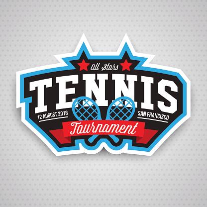 Tennis  icon, badge, design template