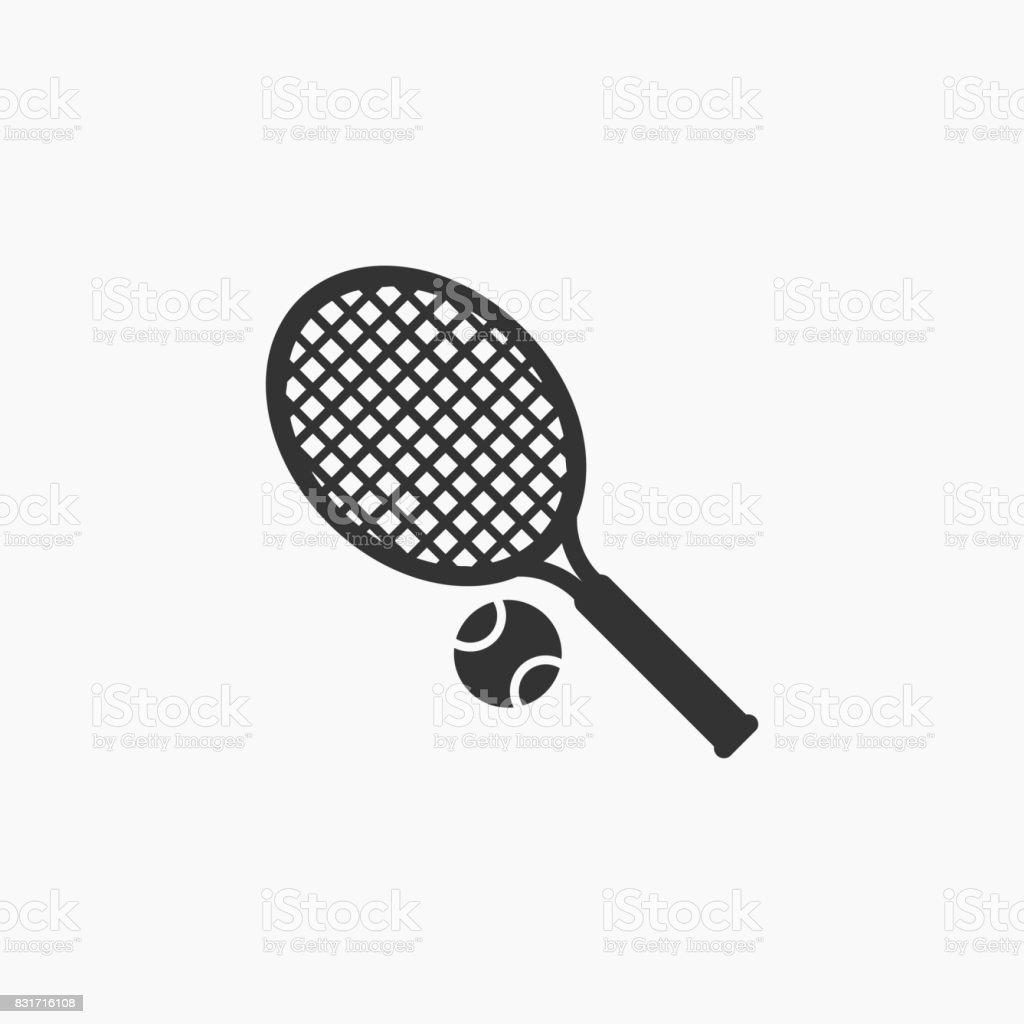テニスアイコン ベクターアートイラスト