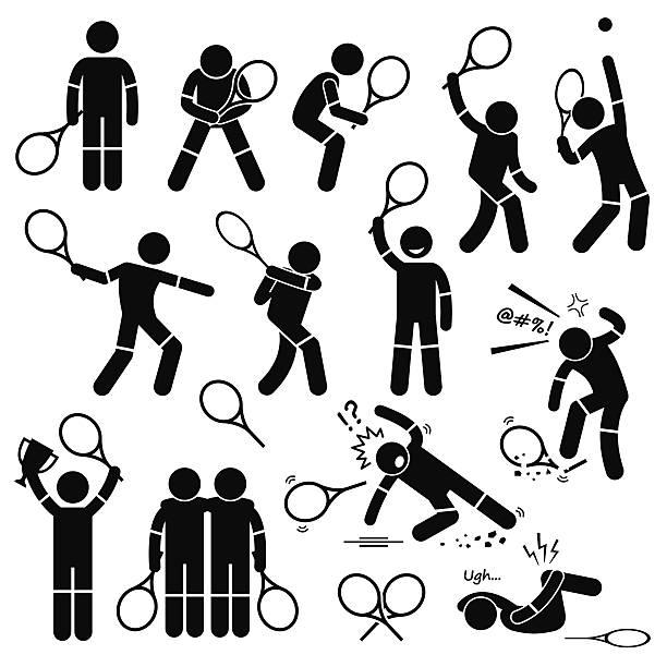 doubles tennis clip art - Clip Art Library