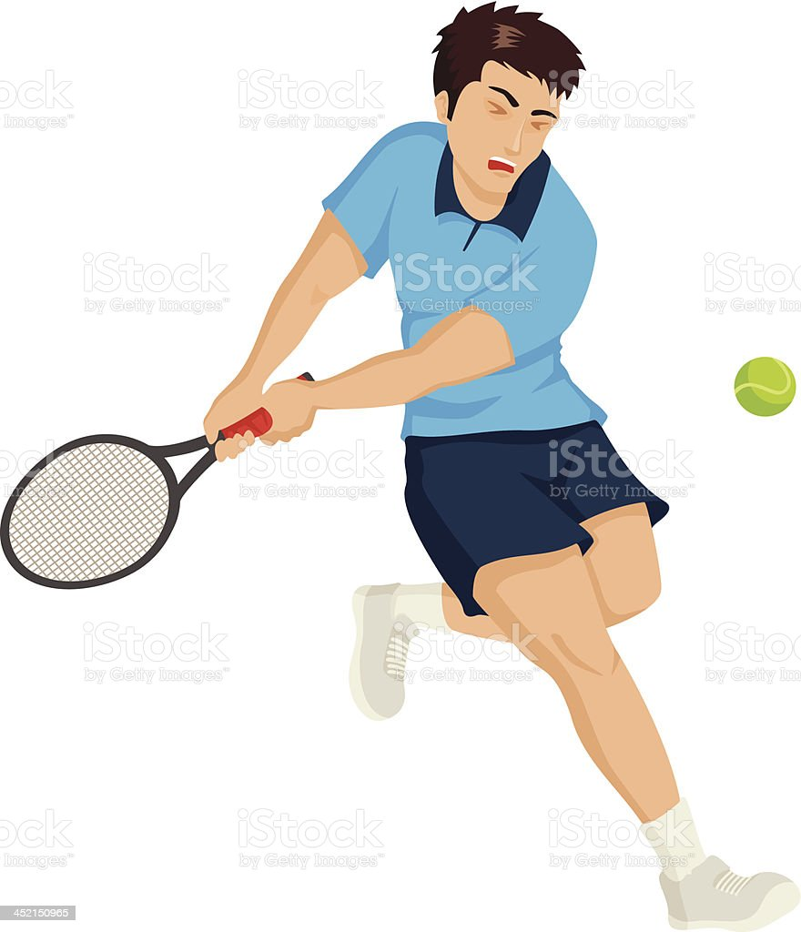 Tennis Player royalty-free tennis player stock vector art & more images of activity