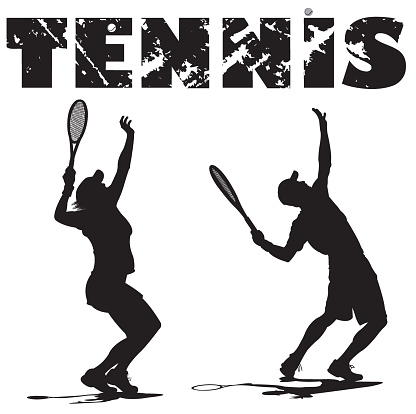 Tennis Players Serving Ball with Typescript