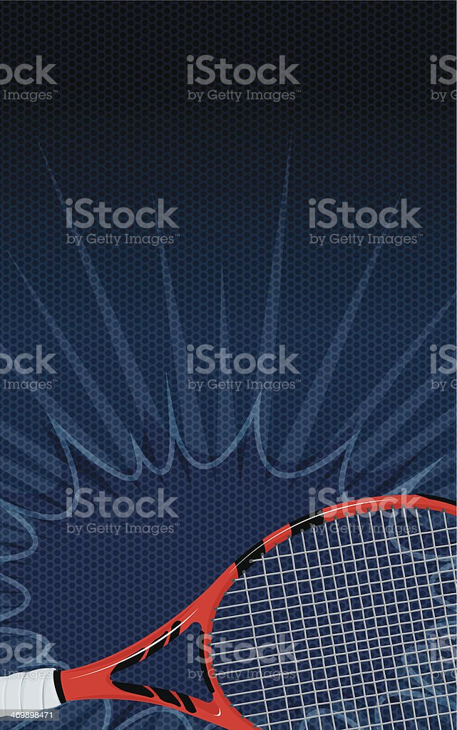 Tennis Racket Burst Background royalty-free tennis racket burst background stock vector art & more images of backgrounds