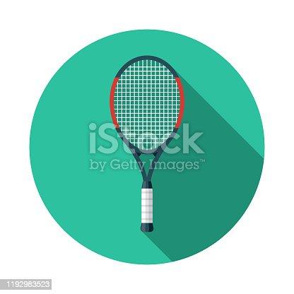 istock Tennis Racket Icon 1192983523