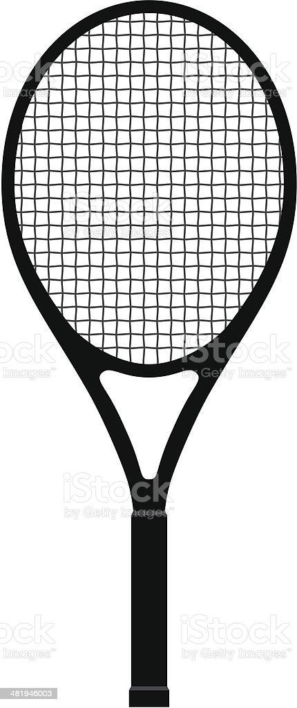 Tennis Racquet royalty-free stock vector art