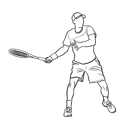 Tennis Smash Serve