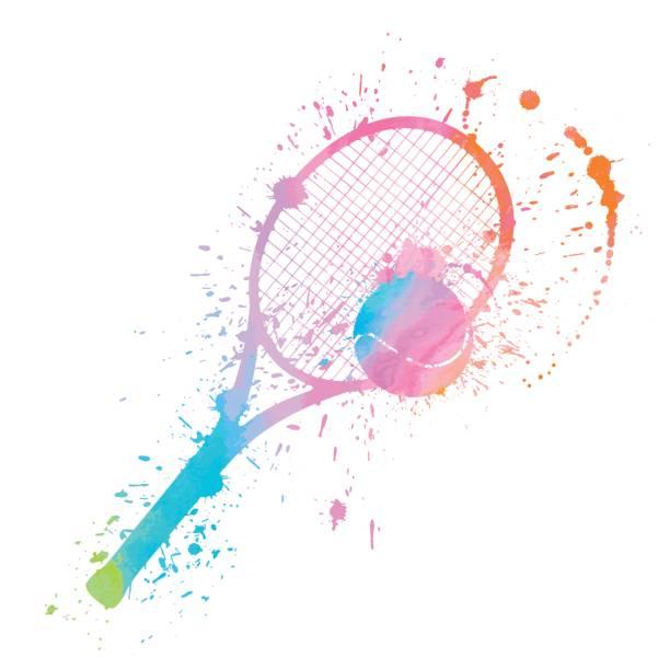 tennis splat - tennis stock illustrations, clip art, cartoons, & icons