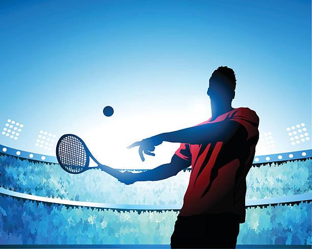 テニスコートの「スウィング」 - テニス点のイラスト素材/クリップアート素材/マンガ素材/アイコン素材