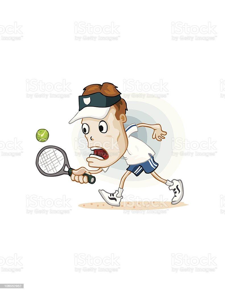 Tennis Tournament royalty-free stock vector art