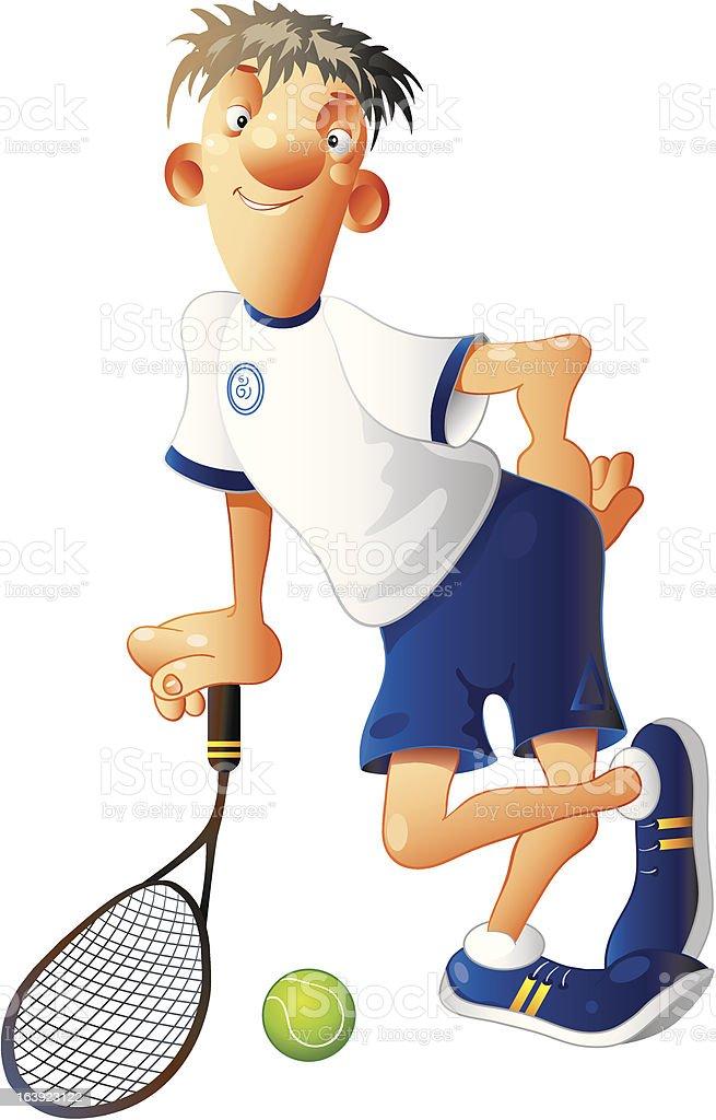 テニスコート ベクターアートイラスト