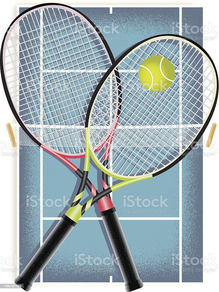 Tennis royalty-free tennis stock vector art & more images of ball