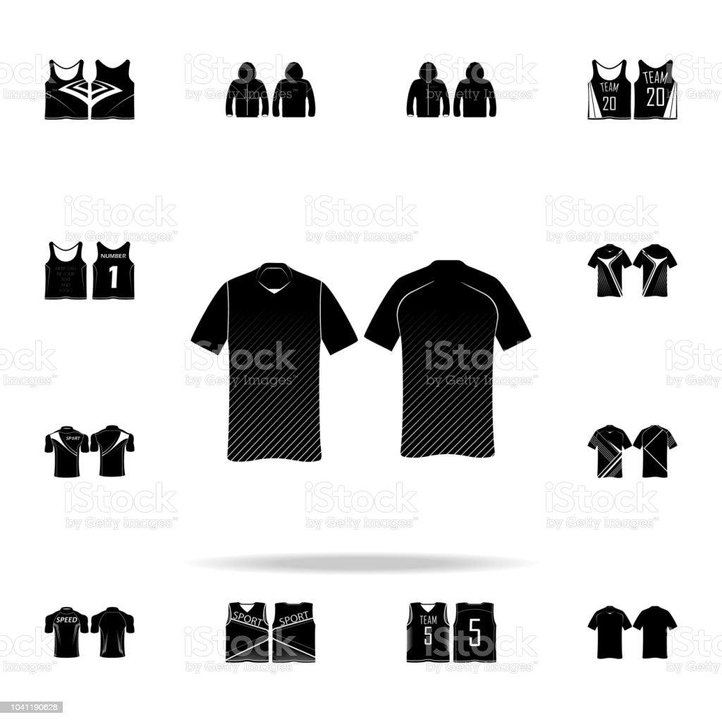 pretty nice c1470 278af Tennisshirt Icon Tshirt Icons Universal Set For Web And ...