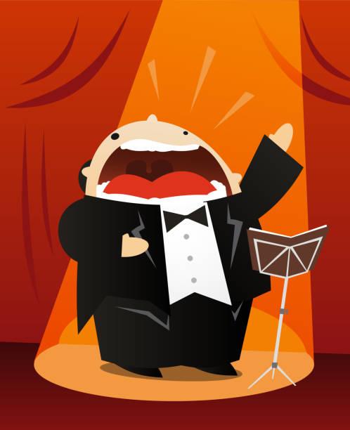 stockillustraties, clipart, cartoons en iconen met tenor - tenor