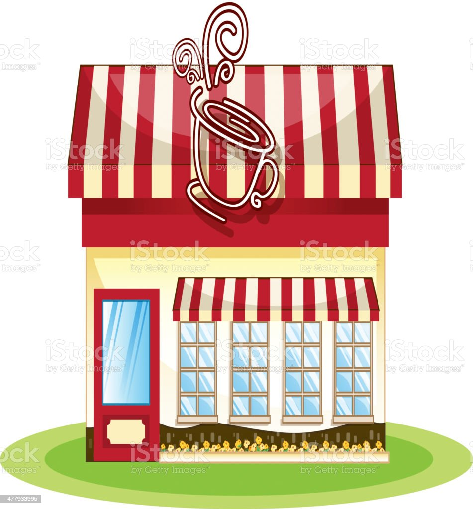 Tent coffee shop royalty-free tent coffee shop stock vector art & more images of bird