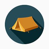istock Tent Flat Design Western Icon 952006912