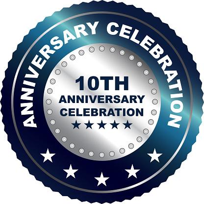 Tenth Anniversary Celebration Silver Award