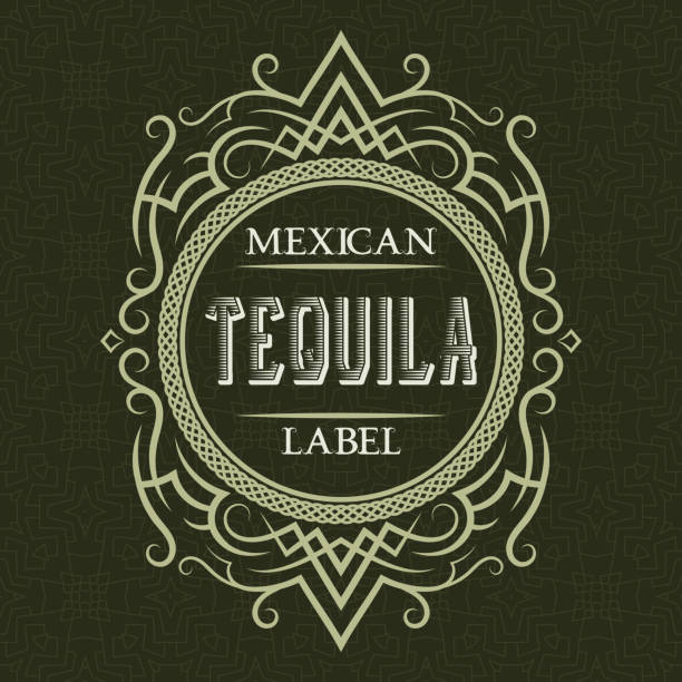 Tequila Bottle Illustrations, Royalty-Free Vector Graphics