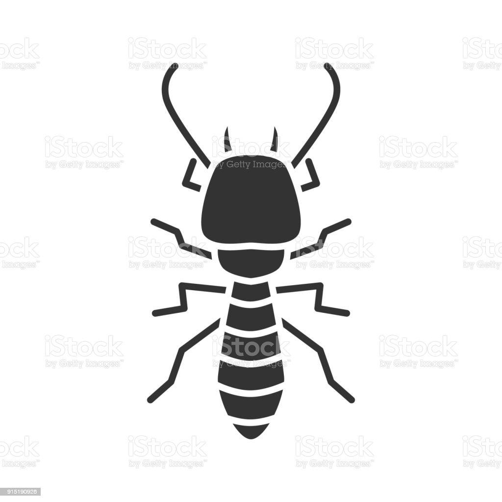 Ilustración de Icono De Termitas y más banco de imágenes de Biología ...